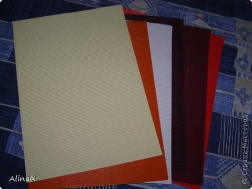 Вот такая гофрированая бумага и картон.Гофрированая бумага очень гибкая и из нее хорошо делать цветы(скоро выложу). фото 15