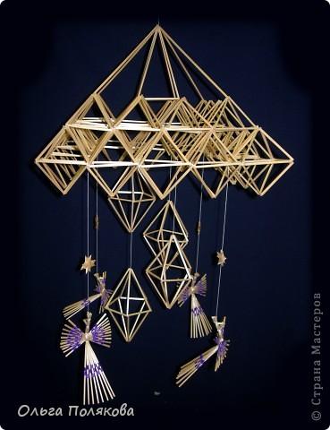 Такими подвесными соломенными конструкциями украшали избы наши предки в Рождество. С праздником!  фото 3