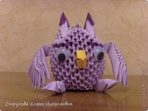 Поделка изделие Оригами китайское модульное Герои мультфильмов Бумага фото 2