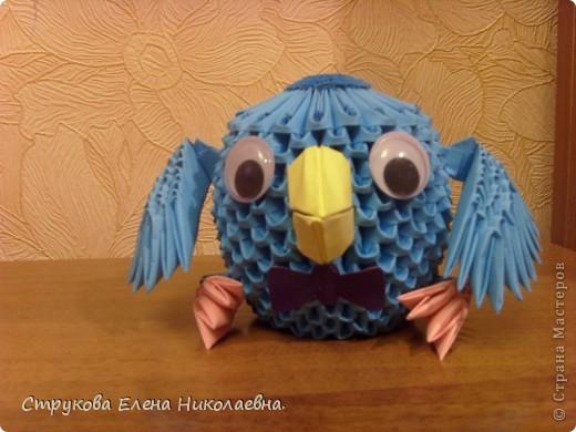 Поделка изделие Оригами китайское модульное Герои мультфильмов Бумага фото 3