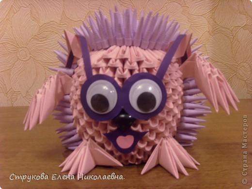 Поделка изделие Оригами китайское модульное Герои мультфильмов Бумага фото 5
