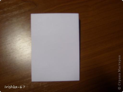 Вид открытки сверху, в конце МК ещё варианты готовой работы. фото 4