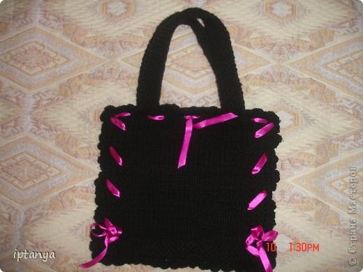 Вот такая сумка у меня получилась фото 1