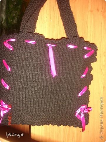 Вот такая сумка у меня получилась фото 3