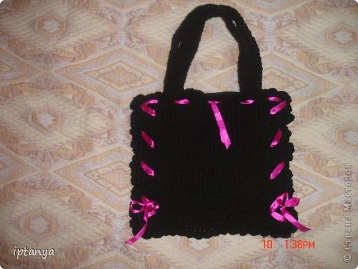 Вот такая сумка у меня получилась фото 4