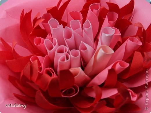 Все хотела сделать цветок с узкими лепестками в середине -вот что вышло(названия пока не придумала) фото 3