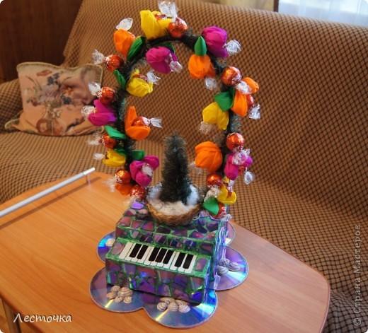 Пианино с корзинкой :)