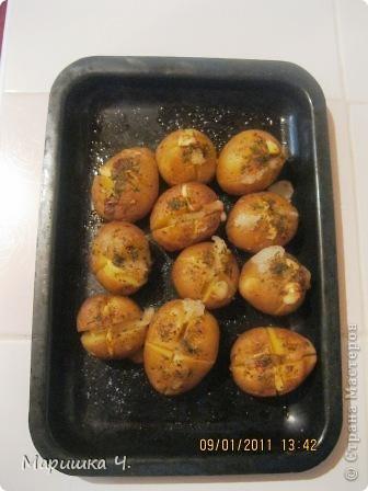 Сегодня муж меня попросил сделать ему на обед картошку.  Вот что из этого получилось. фото 4
