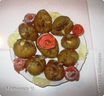 Сегодня муж меня попросил сделать ему на обед картошку.  Вот что из этого получилось. фото 1