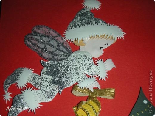 Под самый Новый год я получила ещё один подарок, у меня случился ещё один праздник души! Из города Пензы ко мне прилетел Ангелочек от Лизы, с новогодними пожеланиями и чудесным новогодним настроением!  фото 3