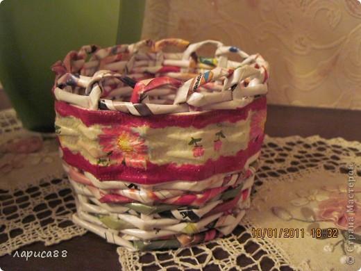 Вот такой набор плетенок для хранения косметики я сделала для себя. фото 4