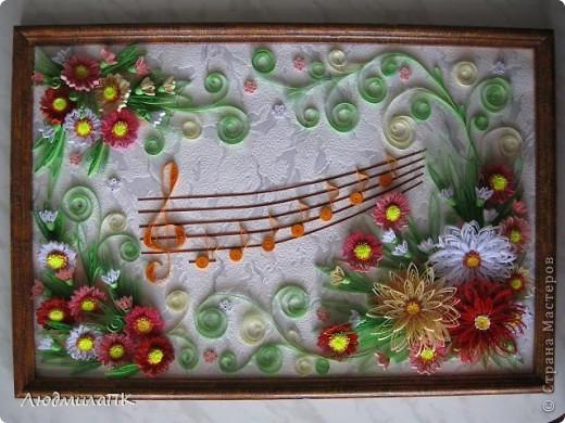 Вот такая картина нарисовалась :)) Рамку оформила кракелюром. фото 1