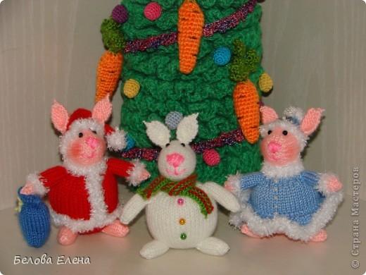Новогодние зайки - малыши. фото 8