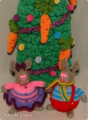 Новогодние зайки - малыши. фото 7