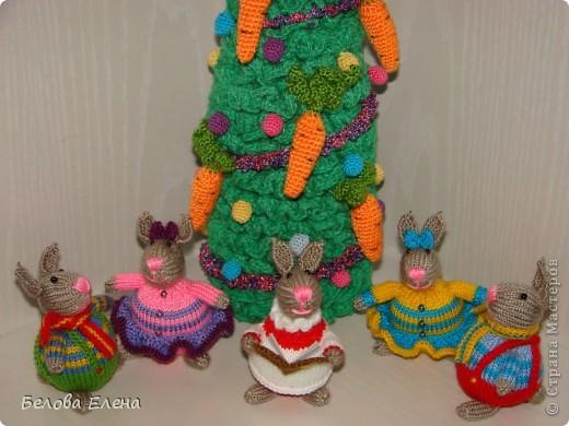 Новогодние зайки - малыши. фото 4