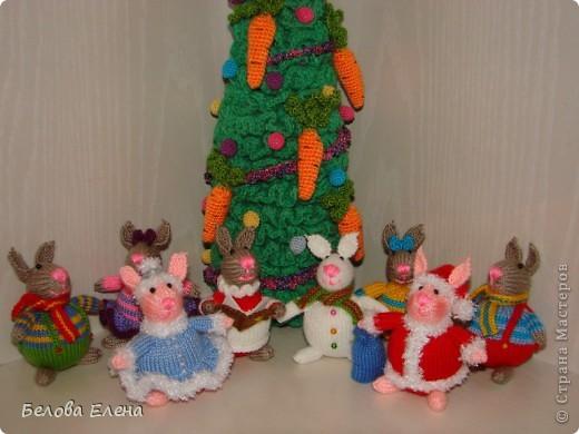 Новогодние зайки - малыши. фото 3