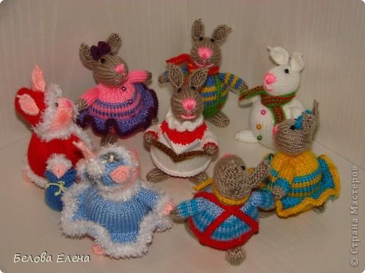 Новогодние зайки - малыши. фото 2