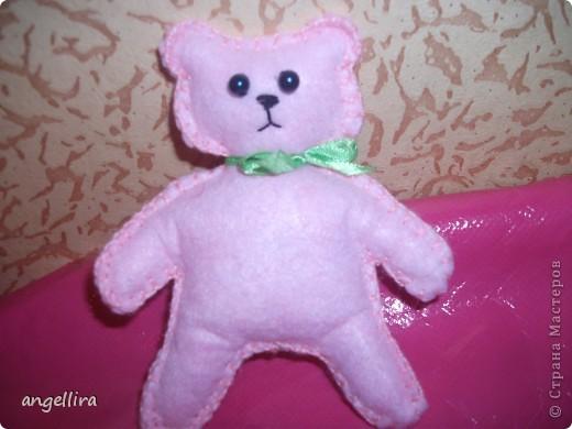 розовый мишутка :)