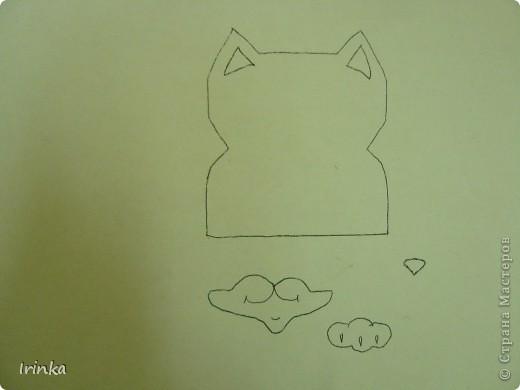 """Мини-открытка """"Котенок"""" фото 3"""
