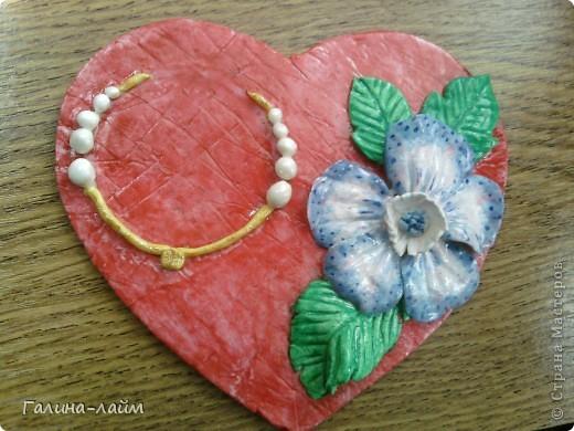 Сердечки можно использовать как подсвечник для свечи-таблетки ( у меня ее нет) или как мини-фоторамку. фото 2