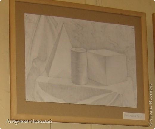 Новогодний вернисаж- выставка работ учеников художественной школы фото 3
