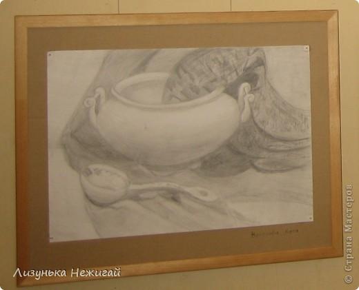 Новогодний вернисаж- выставка работ учеников художественной школы фото 1