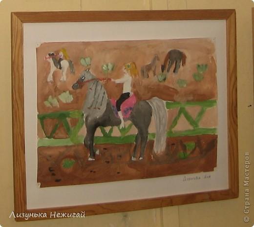 Новогодний вернисаж- выставка работ учеников художественной школы фото 5