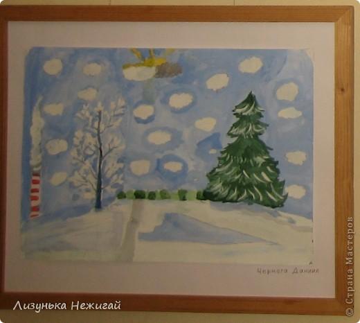 Новогодний вернисаж- выставка работ учеников художественной школы фото 9