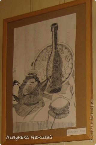 Новогодний вернисаж- выставка работ учеников художественной школы фото 11
