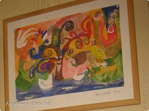 Новогодний вернисаж- выставка работ учеников художественной школы фото 12