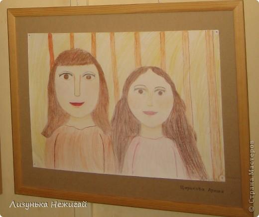 Новогодний вернисаж- выставка работ учеников художественной школы фото 14