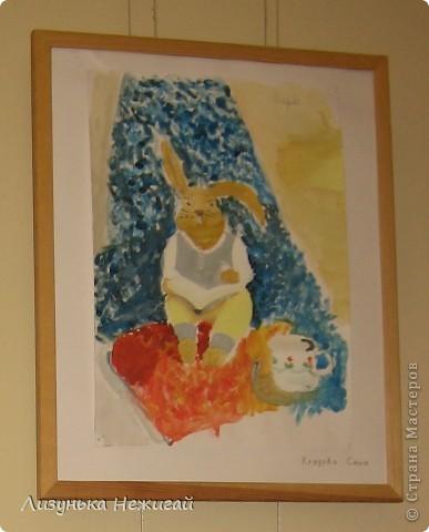Новогодний вернисаж- выставка работ учеников художественной школы фото 15