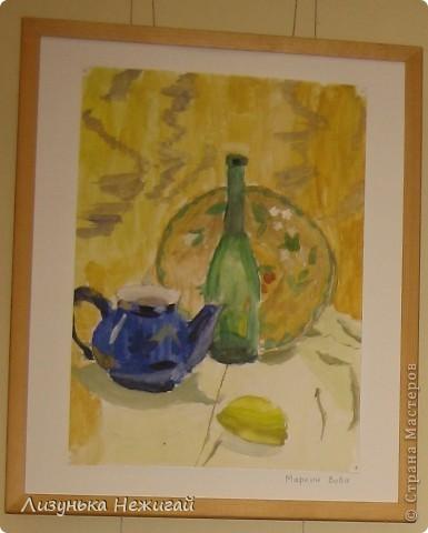 Новогодний вернисаж- выставка работ учеников художественной школы фото 16