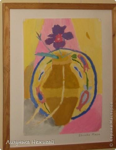 Новогодний вернисаж- выставка работ учеников художественной школы фото 18