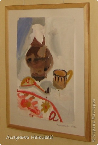 Новогодний вернисаж- выставка работ учеников художественной школы фото 22