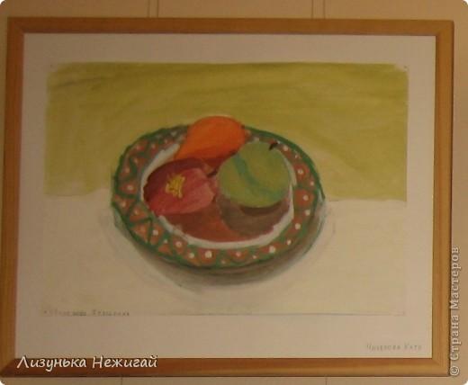 Новогодний вернисаж- выставка работ учеников художественной школы фото 24