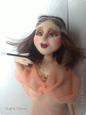 Хочу представить вам  еще одну мою куколку. фото 2