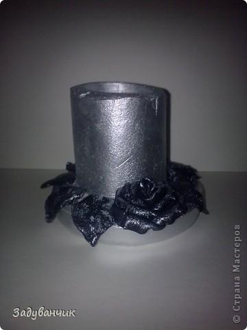 Бутылка первая, пробная, в технике жженный декупаж фото 3