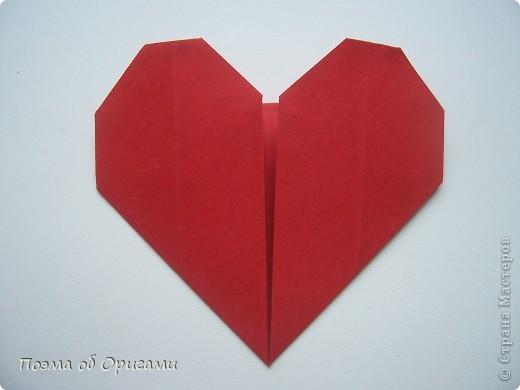 Этому мишке, трепетно прижимающего к себе большое красное сердце без труда удасться передать нежность влюбленного сердца. Для коробочки потребуется два квадрата одинакового размера (в данном случае 20х20см): для медведя - один квадрат, такого же размера, как и для коробки. Дополнительно потребуется квадрат 1/4 от такой величины. фото 54
