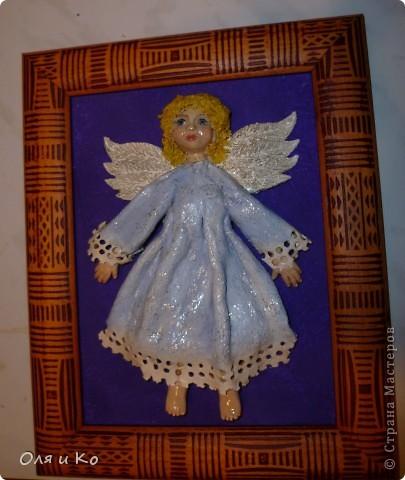Этого ангелочка я сделала бабушке в подарок на Рождество фото 1