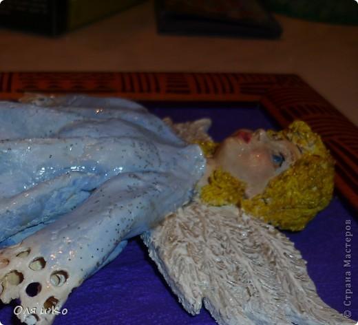 Этого ангелочка я сделала бабушке в подарок на Рождество фото 3