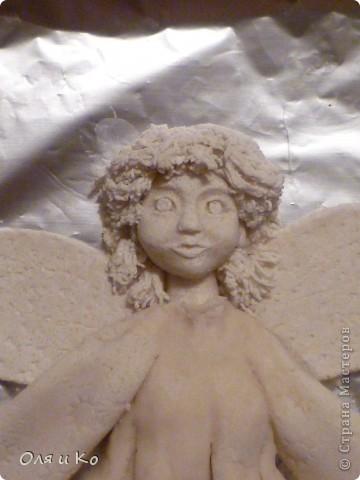 Этого ангелочка я сделала бабушке в подарок на Рождество фото 5