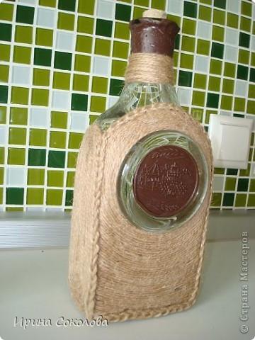 Декор бутылки фото 9
