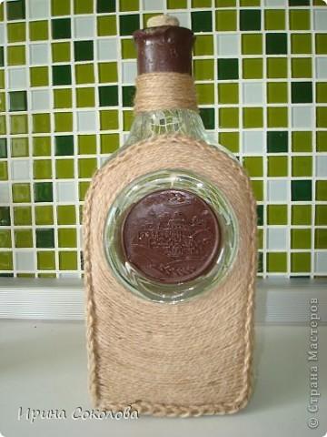 Декор бутылки фото 10
