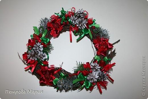 Венок рождественский фото 1