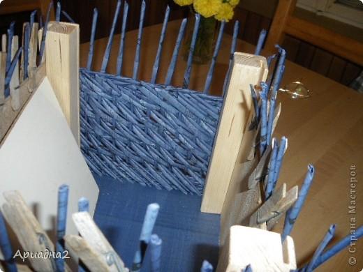 Приспособление для плетения квадратных и прямоугольных коробок