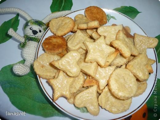 Острые сырные печенюшки