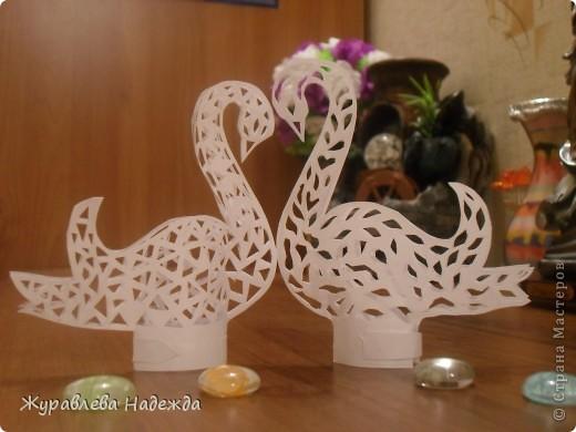 скоро у сестры свадьба, вот думаю сделать таких лебедей. фото 2