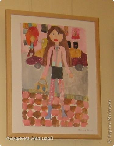 Новогодний вернисаж- выставка работ учеников художественной школы фото 36