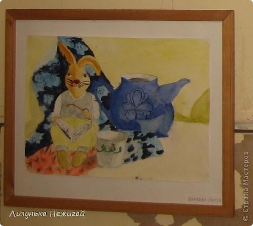 Новогодний вернисаж- выставка работ учеников художественной школы фото 31